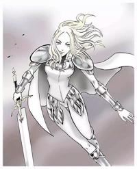 Claymore - The Warrior's Wedge (doujinshi)