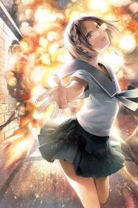 Chio-chan no Tsuugakuro manga